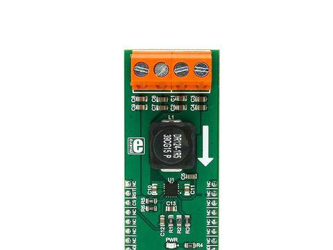 Mikroe Buck 3 Click -  TPS568215 Synchronous Step-down Buck Converter