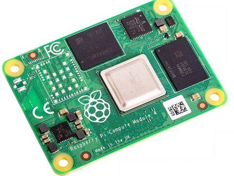 Raspberry Pi Compute Module 4, with 2GB RAM, 8GB eMMC
