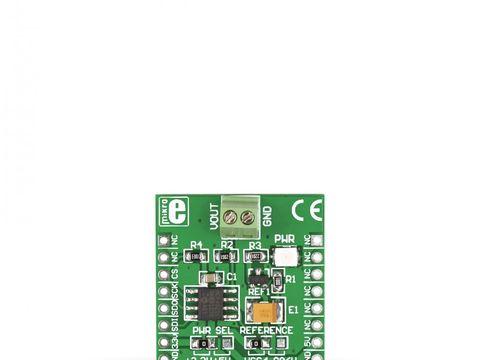 Mikroe DAC Click - 12-bit Digital-to-Analog Converter MCP4921 w/ SPI Interface