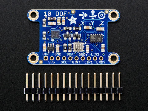 Adafruit 10-DOF IMU Breakout - L3GD20H + LSM303 + BMP180