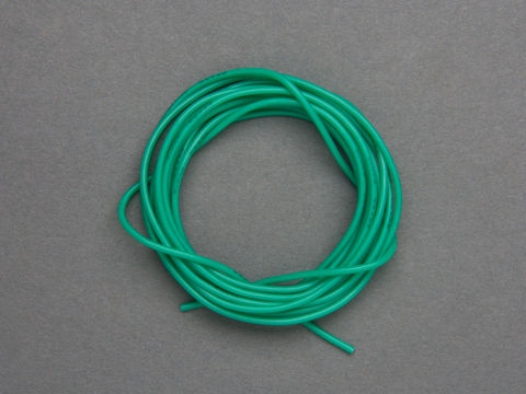 Super Flexible Stranded Core Green Silicone Cover Wire - 2m 26AWG