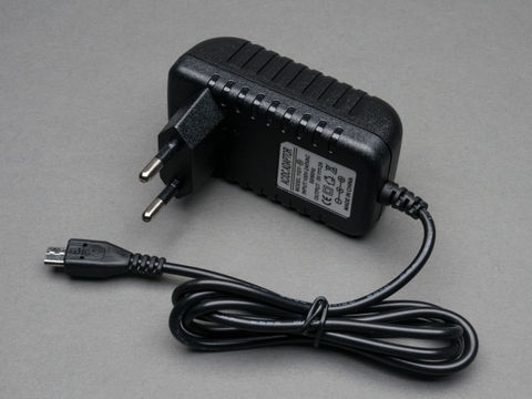 5V Power Adapter 3A with Micro USB Cable