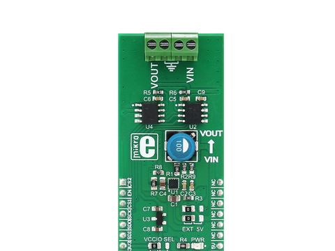Mikroe Boost click - MIC2606 2MHz PWM DC/DC Boost Switching Regulator