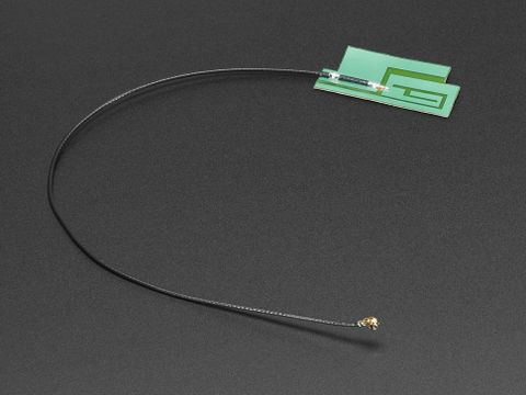 Slim Sticker-type GSM/Cellular Quad-Band Antenna - 3dBi - With 200mm long Cable Tip