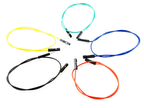 "Jumper Wires Premium 12"" Male to Male Pack of 100"