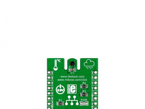 Mikroe Temp&Hum Click - HTS221 Temperature and Relative Humidity Sensor