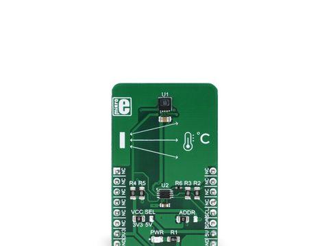 Mikroe IrThermo 3 Click - Melexis MLX90632 Non Contact IR Temperature Sensor