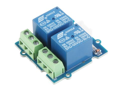 Grove - 2-Channel SPDT Relay
