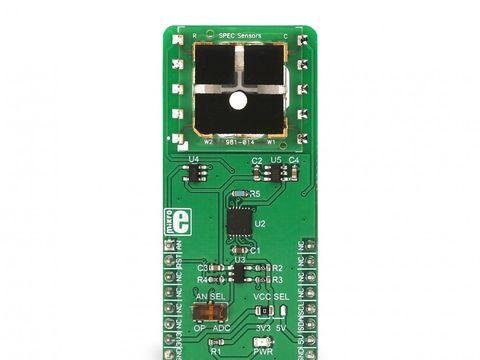 Mikroe NO2 Click - Nitrogen Dioxide Sensor - 3SP-NO2-20