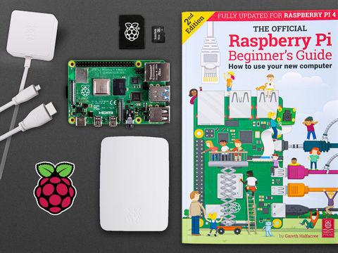 Raspberry Pi 4 Model B Starter Kit with 1GB RAM