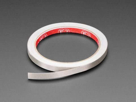 Conductive Nylon Fabric Tape - 8mm Wide x 10 meters long