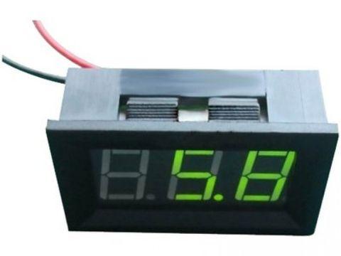 LED 4.5V - 30V Voltage Meter (Green)