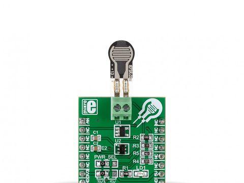 Mikroe Force click - Force Sensing Resistors Module