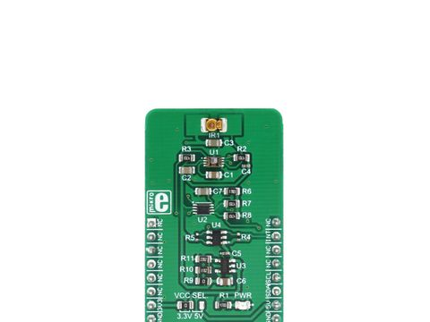 Mikroe Proximity 6 click - Photometric Gesture and Proximity Sensor - ADUX1020