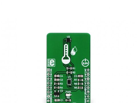 Mikroe Temp&Hum 2 Click - Digital Humidity and Temperature Sensor w/ I2C - Si7034