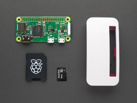 Raspberry Pi Zero W Basic Kit - w/ 16GB NooBs Card