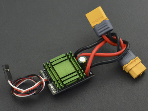 20A Bidirectional Brushed ESC Speed Controller without Break (XT60 Connector)