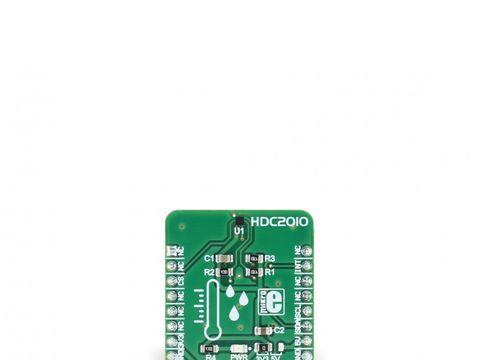 Mikroe Temp&Hum 3 Click - Digital Temperature and Humidity Sensor w/ I2C - HDC2010