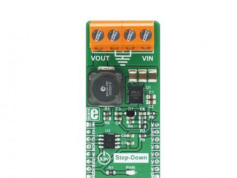 Mikroe MIC24055 click - Buck Step-Down Regulator w/ 8A Current Output