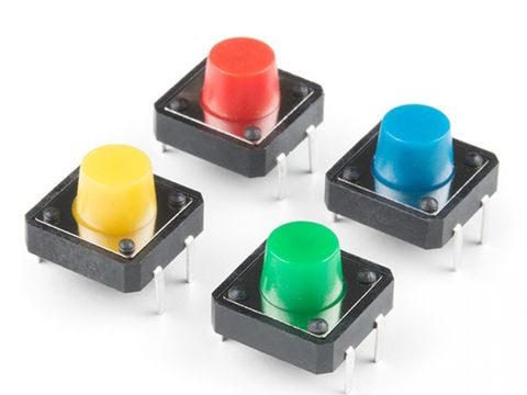 Multicolor Buttons pack of 4
