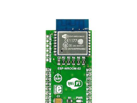 Mikroe WiFi ESP click