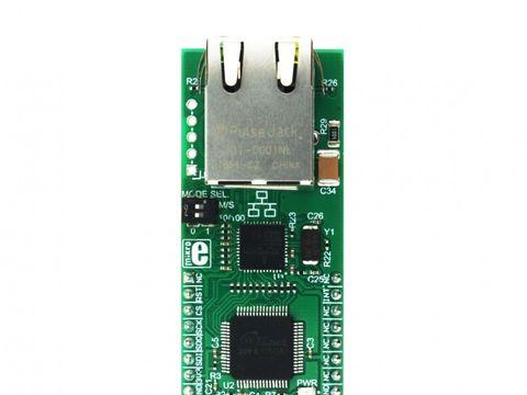 Mikroe BroadR-Reach click - 100Mbps Full Duplex Ethernet Module - BCM54811