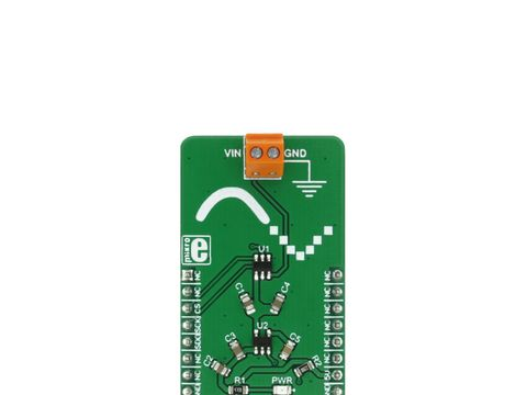 Mikroe ADC 5 Click - Analog-to-Digital Converter w/ SPI - ADC121S021