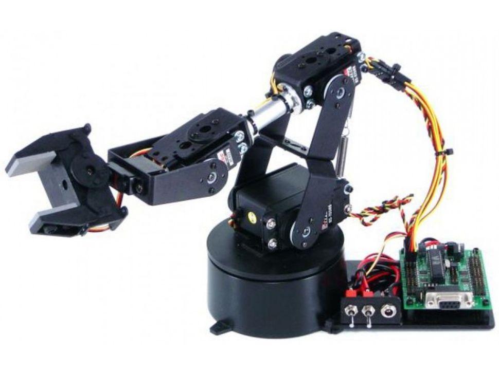 Lynxmotion AL5A 4DOF Robotic Arm SSC-32U Combo Kit (No Software)