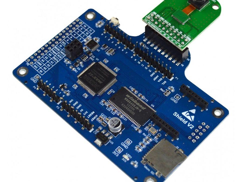 Arducam-F Rev C+ Camera Module Shield w/ OV2640 for Arduino