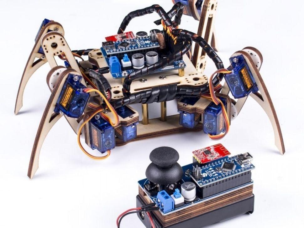Crawling Quadruped Robot Kit for Arduino V2