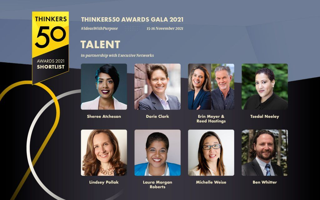 Dorie Clark is a shortlisted nominee for the Thinkers50 Talent Award