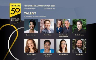 Announcing the Thinkers50 2021 Talent Award Shortlist