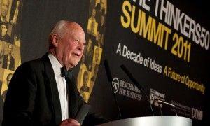 Charles Handy receives the Lifetime Achievement Award, 2011