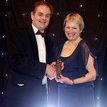 Rita McGrath accepts the 2013 Strategy Award from CIMA sponsor
