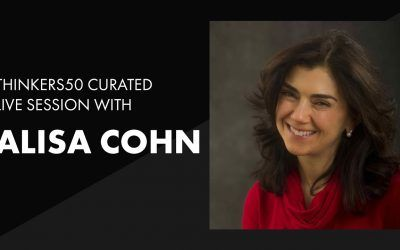 Thinkers50 Curated LinkedIn Live with Alisa Cohn | The Ultimate Startup Coach