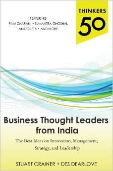Book Cover of Business Thought Leaders from India