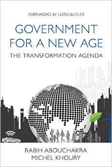 Book Cover for Government for a New Age