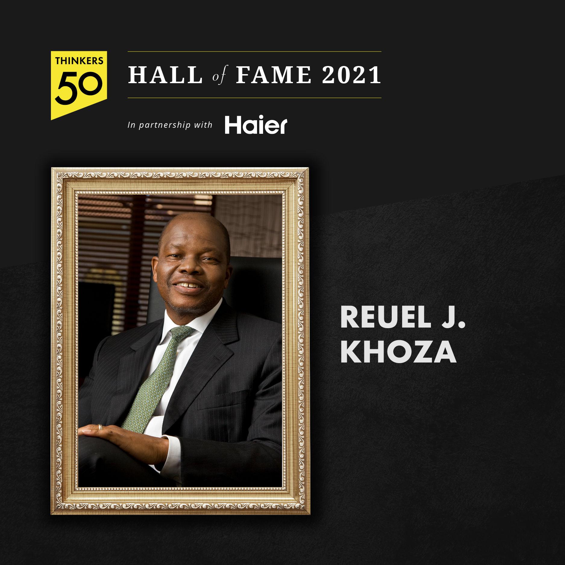 Reuel J. Khoza Hall of Fame