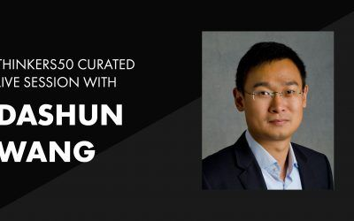 Thinkers50 Curated LinkedIn Live with Dashun Wang | The Science of Science