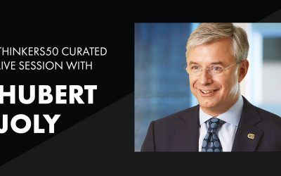 Thinkers50 Curated LinkedIn Live with Hubert Joly | The Heart of Business