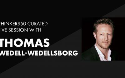 Thinkers50 Curated LinkedIn Live with Thomas Wedell-Wedellsborg | What's Your Problem?