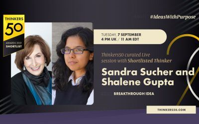 Thinkers50 Curated LinkedIn Live Session with Sandra Sucher and Shalene Gupta