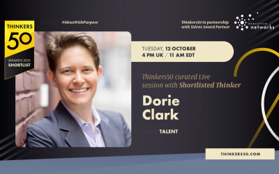 Thinkers50 Curated LinkedIn Live Session with Dorie Clark