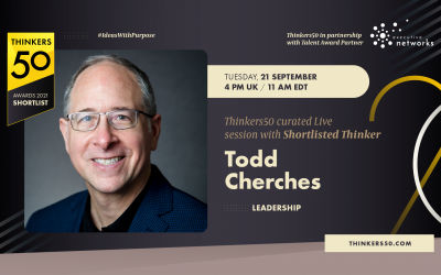 Thinkers50 Curated LinkedIn Live Session with Todd Cherches