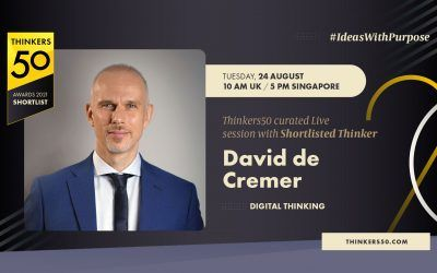 Thinkers50 Curated LinkedIn Live Session with David De Cremer
