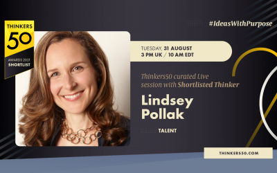 Thinkers50 Curated LinkedIn Live with Lindsey Pollak