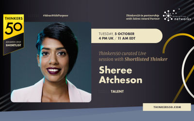 Thinkers50 Curated LinkedIn Live Session with Sheree Atcherson