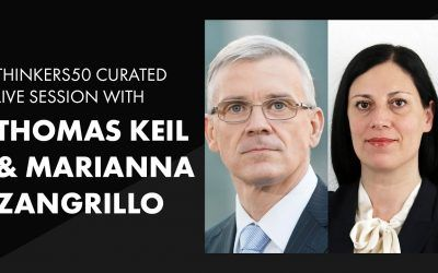 Thinkers50 Curated LinkedIn Live with Marianna and Thomas | The Next CEO
