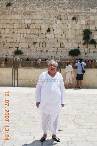 गुरुदेव सियाग इज़राइल की यात्रा 01