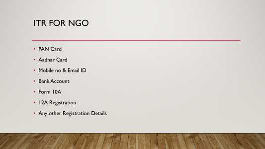 Income Tax Filing for NGOs_0